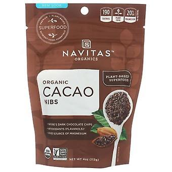 Navitas Naturals Organics Cacao Nibs, 4 Oz