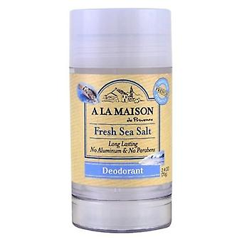 A La Maison Fresh Deodorant, Sea Salt 2.4Oz
