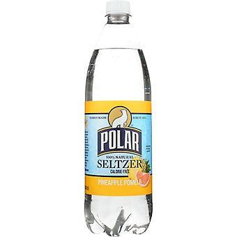 Polar Seltzer Seltzer Pnappl Pomelo, Case of 12 X 33.8 Oz