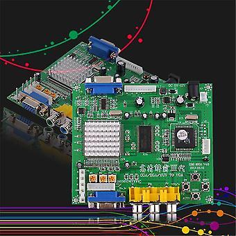 Zielona gra zręcznościowa Rgb/cga/ega/yuv To Vga HD Video Converter Board Gbs8200