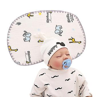 Baby Pillow For Newborn Prevent Flat Head With Extra Washable Pillow Case(GROUP1)