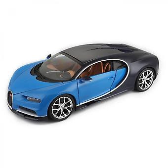 Bburago Bugatti Chiron Metal Collection Car In Scale 1 / 18th Scale