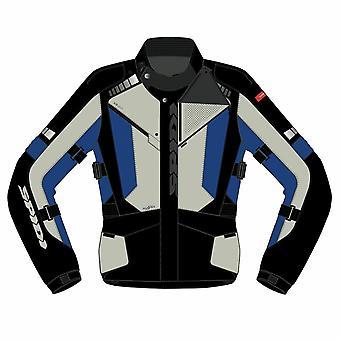 Spidi GB Outlander CE Jacket Black Blue MED D234 498
