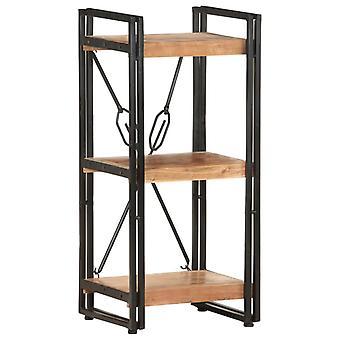 vidaXL bibliothèque 3 compartiments 40x30x80 cm acacia bois massif