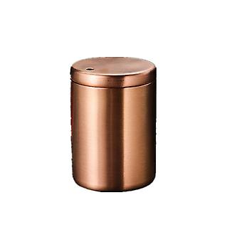 2Pcs Stainless steel toothpick barrel, creative thickening, portable and fall resistant household