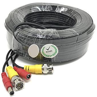 Vysoko kvalitné BNC káblové zabezpečenie CCTV kamera Dc Power Copper Core Ahd Cvi Video