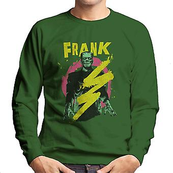 Frankenstein Frank Electric Shock Men's Sweatshirt