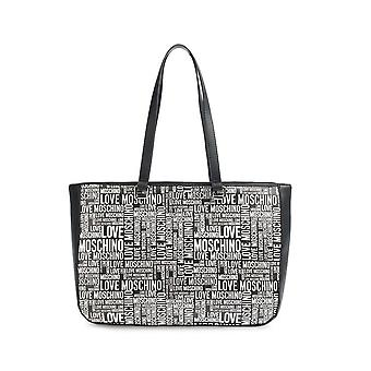 Love Moschino - Bags - Shoulder bags - JC4156PP1DLE1-00A - Women - black,white