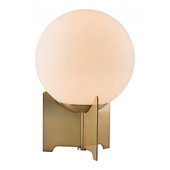 Mesa de globo de latón o lámpara de escritorio