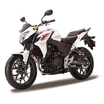 Honda CB500F i vitt