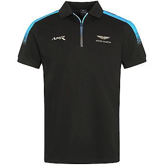 Hackett AMR Gradient Zip Polo Skjorta