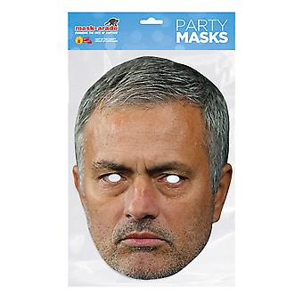 Maske-arade Jose Mourinho Festmaske