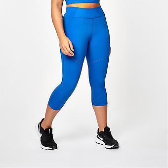 USA Pro Womens X Courtney Black Transform Capris Moisture Wicking Leggings Gym