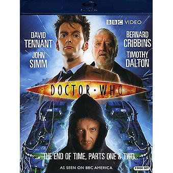 Doctor Who - Doctor Who : Fin de temps, PT. 1-2 [BLU-RAY] USA import
