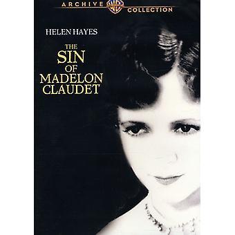 Sin of Madelon Claudet [DVD] USA import