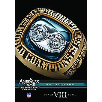 NFL America's Game: 1973 Dolphins (Super Bowl VIII [DVD] USA import