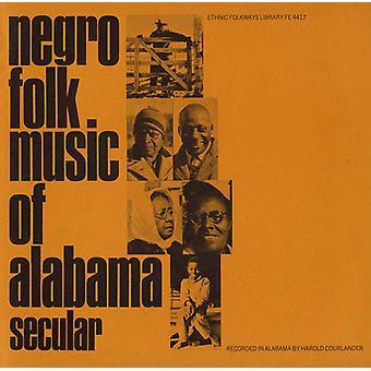 アラバマ州 - アラバマ州黒人民俗音楽の黒人の民俗音楽: Vol. 1 世俗音楽 【 CD 】 USA 輸入