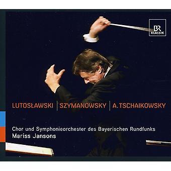 Lustoslawski/Szymanowski/Tschaikowsky - Mariss Jansons Conducts Lutoslawski, Szymanowsky & Tchaikovsky [CD] USA import