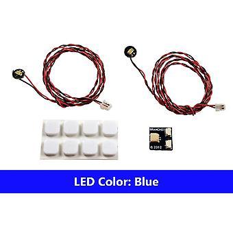 Brickstuff sininen Pico LED-valo hallituksen 2-Pack-2PK/PBL/LEAF01