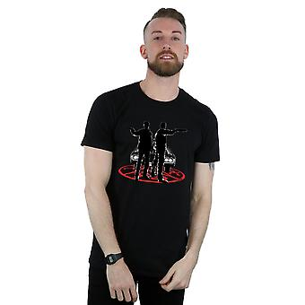 Bovennatuurlijke mannen Sam en Dean silhouet T-Shirt