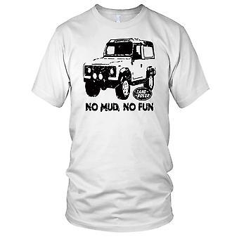 Ingen lera inte roligt Land Rover Defender damer T Shirt