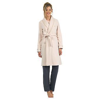 BlackSpade 6125-207 Damen aus weißen Morgenmantel Loungewear Bademantel Robe