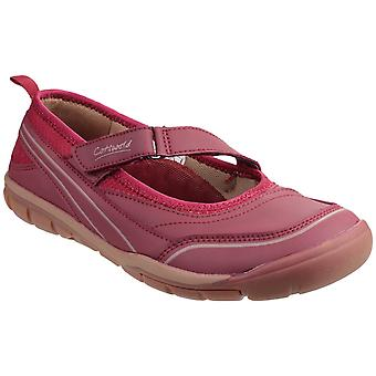 Cotswold Womens Appleton Touch Fastening Ballet Pompe