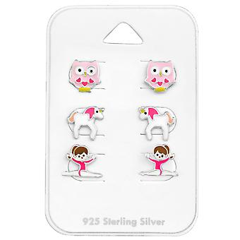 Pink - 925 Sterling Silver Sets - W28470X