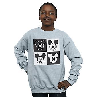 Disney meninos Mickey Mouse sorrindo praças moletom