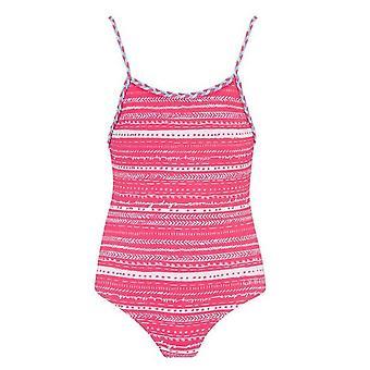 Animal Pheebs Girl's Swimsuit - Pink