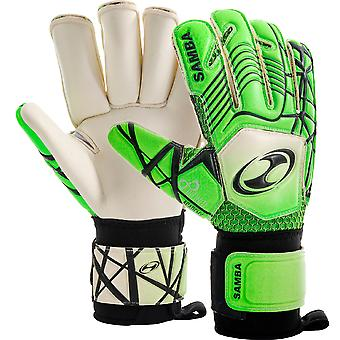 Samba Infiniti Duo Palm Aqua Goalkeeper Gloves