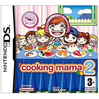Madlavning Mama 2 middag med venner (Nintendo DS)-fabriks forseglet