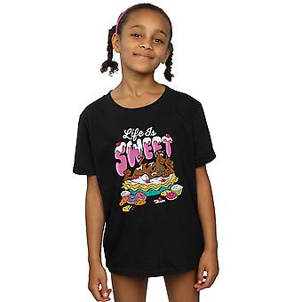 Scooby Doo Girls Life Is Sweet T-Shirt