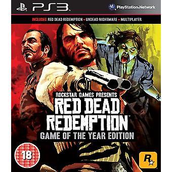 Red Dead Redemption-årets spil udgave (PS3)-ny