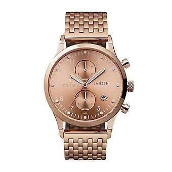 Triwa Unisex Watch LCST104-BR021414 rose Lansen Chrono Watch