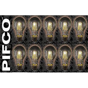 PIFCO LED Vintage Retro Candle Globe GLS B22 B15 SES ES Light Bulbs
