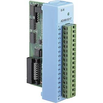 Advantech ADAM-5017 tulo moduuli analoginen ei. tulojen määrä: 8 x