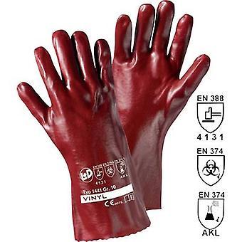 L+D worky VINYL-35 1441 Vinyl Protective glove EN 388 , EN 374 CAT III 1 pc(s)
