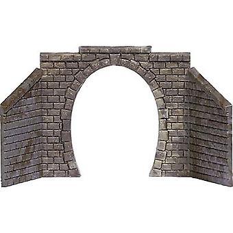 Busch 8197 N tunnel Portal 1-spår monterad