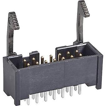 Taśmy TE Connectivity Pin + długi zatrzask odstępy kontakt: 2.54 mm całkowita ilość pinów: 26 nr wiersze: 2 1 szt.