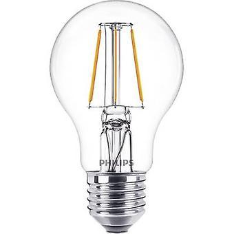 Philips Lighting LED EEC A++ (A++ - E) E27 Arbitrary 4 W = 40 W Warm white (Ø x L) 60 mm x 104 mm Filament 1 pc(s)
