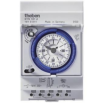 Theben 1610011 DIN Rail Mount timer