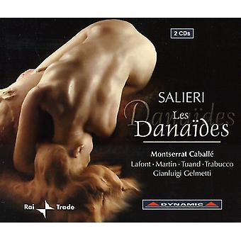 A. Salieri - Salieri: Les Dana Des [CD] USA import