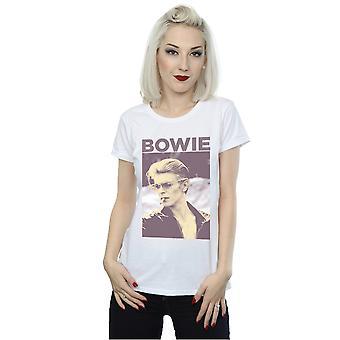 Fumar foto camiseta de la mujer de David Bowie
