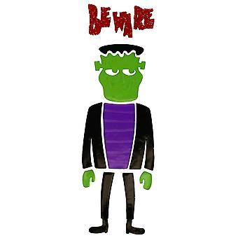 Etiqueta de la ventana de Halloween Gel - el monstruo de Frankenstein