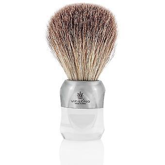 Vie lange 16760 svart Badger barbering pensel