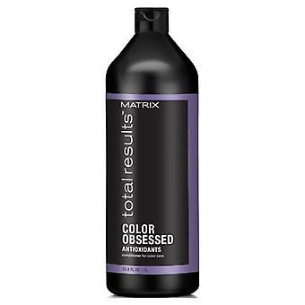 Matrice des résultats Total couleur obsédé Conditioner 1000 ml