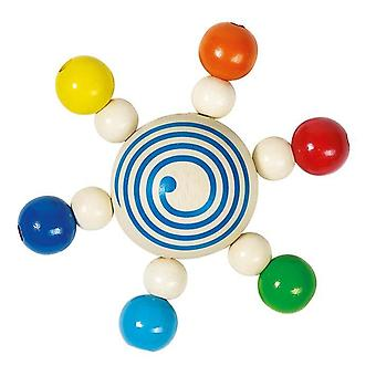 Heimess Touch ring Rattle Spinning top cu perle