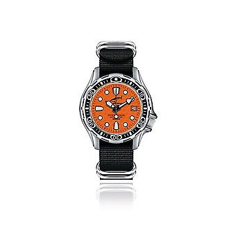 CHRIS BENZ - Diver Watch - DEEP 500M AUTOMATIC - CB-500A-O-NBS