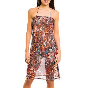 Kiniki Pavo Tan Through Beach Dress Womens Swimwear